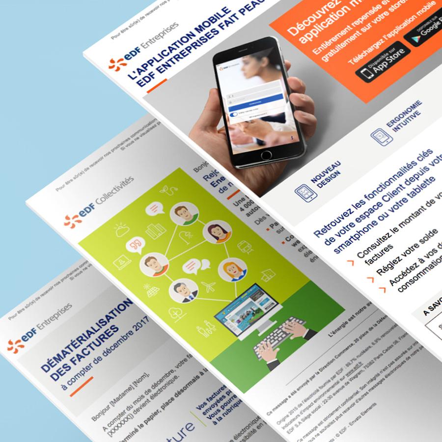 EDF Entreprises - Emailings