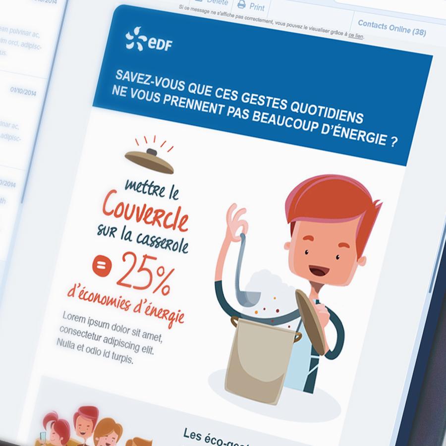 EDF - Campagne Eco Gestes