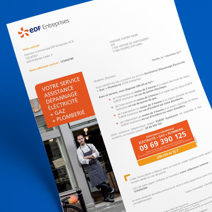 EDF Entreprises - Mailing
