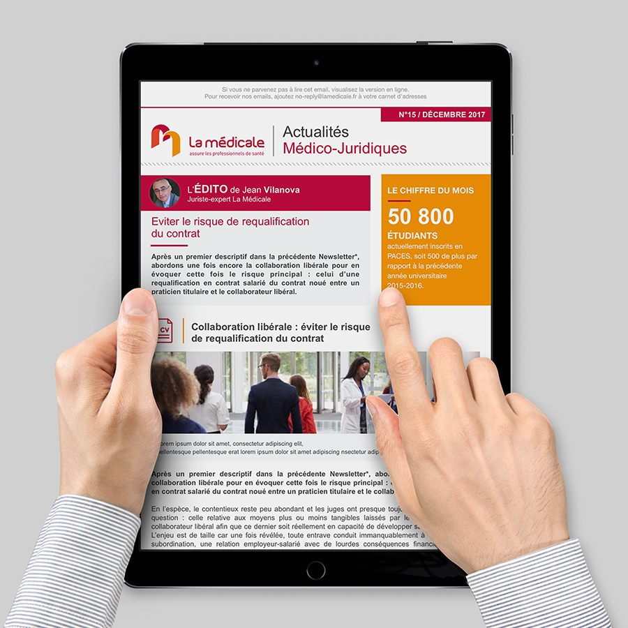 La Médicale - Newsletter