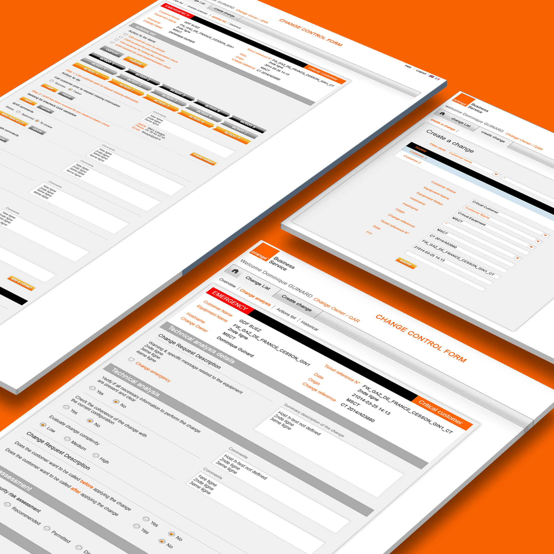 Orange Business Services - Portail mon SI