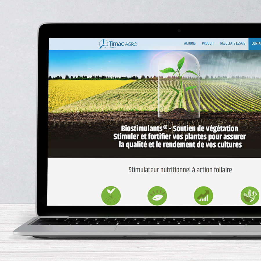 Timac Agro - Campagne Biostimulants